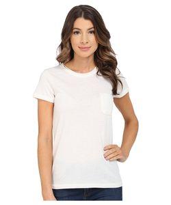 Alternativa | Pocket Ideal Tee Eco Ivory Womens Short Sleeve Pullover