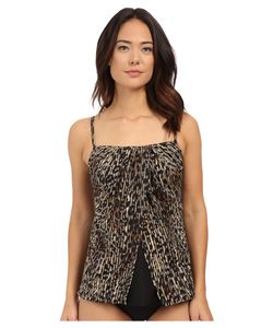 Miraclesuit | Purr-Fection Jubilee Tankini Top Womens Swimwear