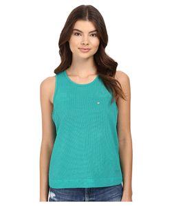DIAMOND SUPPLY CO. | Diamond Supply Co. Pavilion Knit Tank Top Turquoise Womens Sleeveless