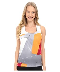 Spyder | Even Tank Top Multi Color Shield Print Womens Sleeveless