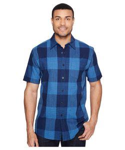 Pendleton | Tennyson Shirt Large Check Indigo Mens Clothing