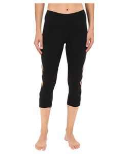Pink Lotus   Keep It On Time Attitude Solid Performance Capris
