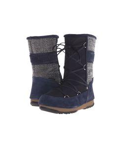 Tecnica | Moon Boot Vienna Mix Denim Womens Work Boots