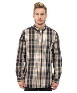 Carhartt | Force Mandan Plaid Long Sleeve Shirt Mens Long