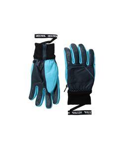 Hestra | Omni Navy/Turquoise Ski Gloves