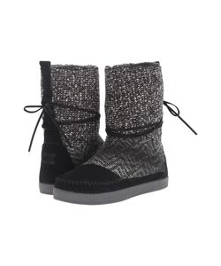 Toms | Nepal Boot Suede/Textile Womens Pull-On Boots