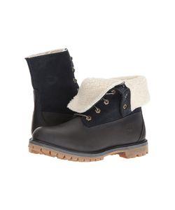 Timberland   Authentics Teddy Fleece Waterproof Fold-Down Boot Iris Womens