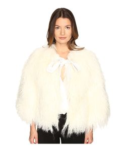 LaMarque   Hisa Mongolian Shearling Jacket Womens Coat