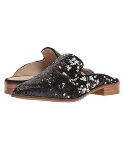 Shellys London | Cantara Mule Sequin Womens Flat Shoes