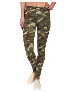 Alternativa | Printed Skinny Legging Camo Womens Casual Pants