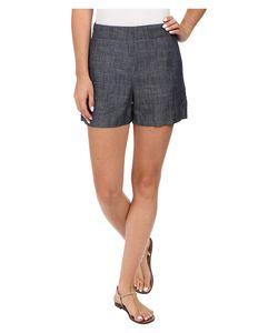 Level 99 | Lela Shorts Indigo Womens Shorts