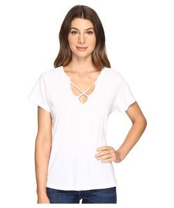 Lna   Raw Tie Tee Womens T Shirt