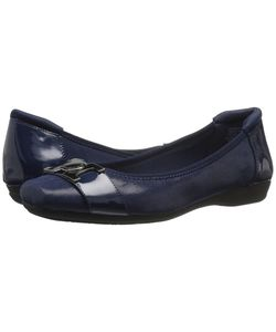 Anne Klein | Unalike Navy Fabric Womens Shoes