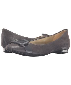 Anne Klein | Elonie Dark Leather Womens Shoes