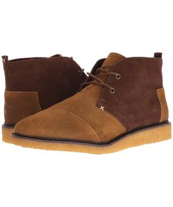 Toms | Mateo Chukka Boot Chestnut Oiled Suede Mens Lace-Up Boots