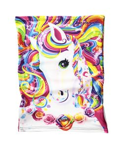 Celtek | Sun Beam Neck Gaiter Lisa Frank Rainbow Majesty Scarves
