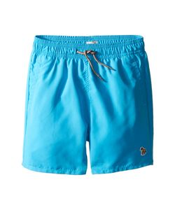 Paul Smith Junior | Turquoise Swim Shorts With Dino Appearing When