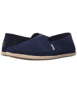 Toms | Seasonal Classics Navy Suede Mens Slip On Shoes