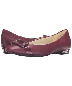 Anne Klein | Elonie Wine/Wine Leather Womens Shoes