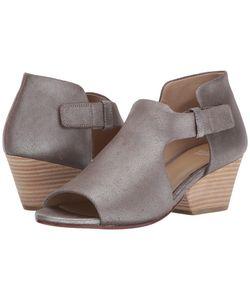 Eileen Fisher   Iris Platinum Leather Womens 1-2 Inch Heel