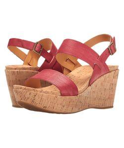 Kork-Ease | Austin Full Grain 2 Womens Wedge Shoes