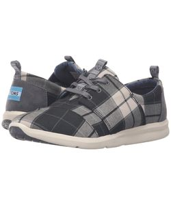 Toms | Del Rey Sneaker Plaid Womens Lace Up Casual