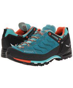 Salewa | Mountain Trainer Gtx Venom/Tigerlilly Womens Shoes