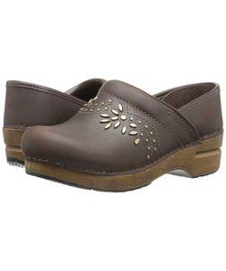 Dansko | Patricia Antique Oiled Womens Clog Shoes