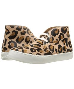 Penelope Chilvers | Jungle Leopard Rose Bovine Leather Womens Shoes