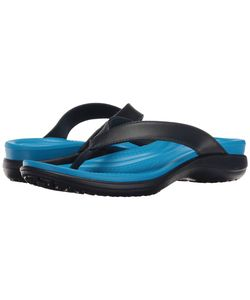 Crocs | Capri V Flip Navy/Ocean Womens Sandals
