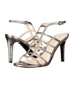 PELLE MODA | Nell 2 Pewter Silk Womens Shoes