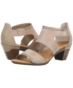 Rieker | 67358 Aileen 58 Clay/Marble/Altsilber Womens Shoes