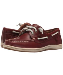 Sperry | Songfish Heavy Leather Rust Womens Lace Up Moc Toe