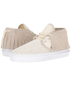 Clear Weather | The One-O-One Cream Mesh Mens Shoes