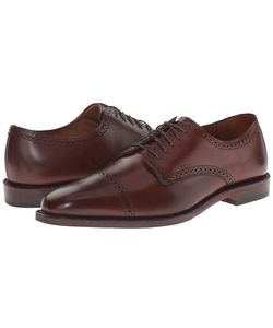 Allen Edmonds | Yorktown Dark Chili Burnished Calf Mens Lace Up
