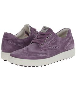Ecco Golf | Casual Hybrid Wingtip Grape Womens Golf Shoes