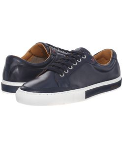 Sebago | Robinson Lace-Up Navy Leather Mens Lace Up Casual Shoes