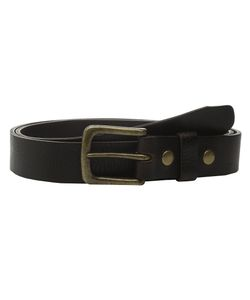 Will Leather Goods | 34mm Luxe Belt W Snap Closure Chocolate