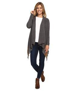 Woolrich | Long Way Fringe Cardigan Heather Womens Sweater