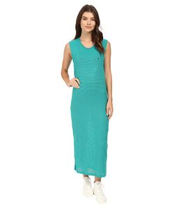 DIAMOND SUPPLY CO. | Diamond Supply Co. Pavilion Mesh Maxi Dress Turquoise Womens Dress