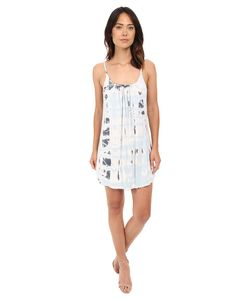 Gypsy 05 | Spaghetti Strap Cross Back Mini Dress Cloud Womens Dress