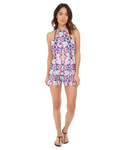 6 Shore Road by Pooja | Chiva Romper Cover-Up Atlantic