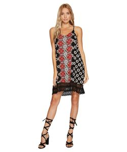 Angie | Strp Dress With Crochet Womens Dress