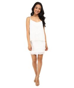 Laundry By Shelli Segal | Beaded Chiffon Pop Over Dress Optic