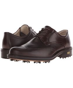 Ecco Golf | New World Class Cocoa Cocoa Mens Lace