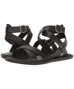 Born   Kindu Full Grain Womens Dress Sandals