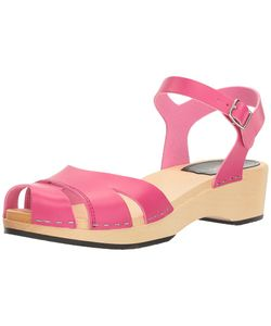 Swedish Hasbeens | Suzanne Debutant Neon Womens Sandals