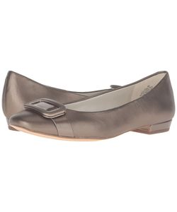 Anne Klein | Elonie Leather Womens Shoes