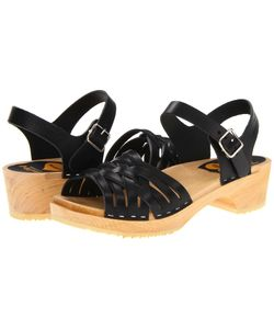 Swedish Hasbeens | Braided Low Nature Womens Sandals