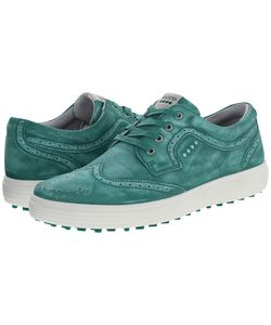 Ecco Golf | Casual Hybrid Wingtip Lawn Mens Golf Shoes